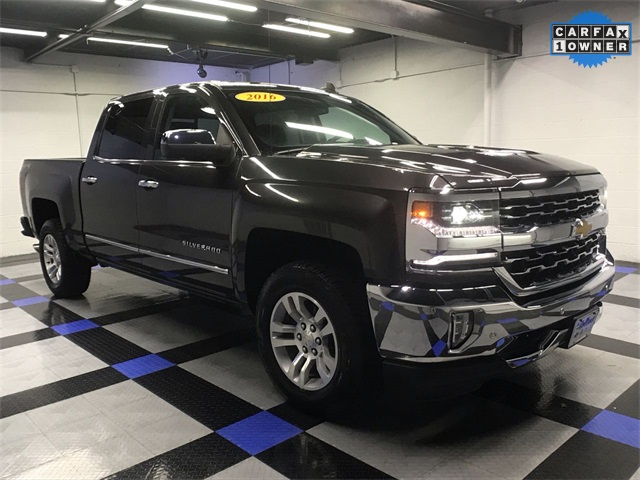 Pre Owned 2016 Chevrolet Silverado 1500 Ltz 4d Crew Cab In South