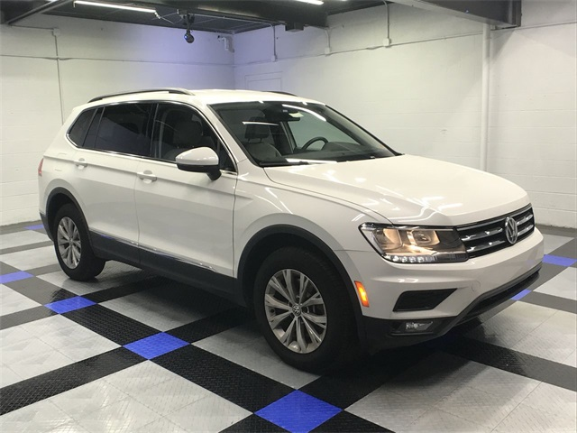 Joe Holland Chevrolet >> New 2018 Volkswagen Tiguan 2.0T SE 4D Sport Utility in ...