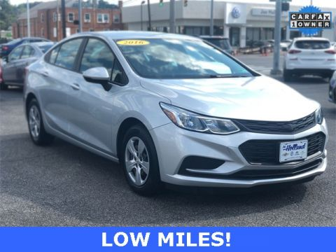Pre-Owned 2016 Chevrolet Cruze L